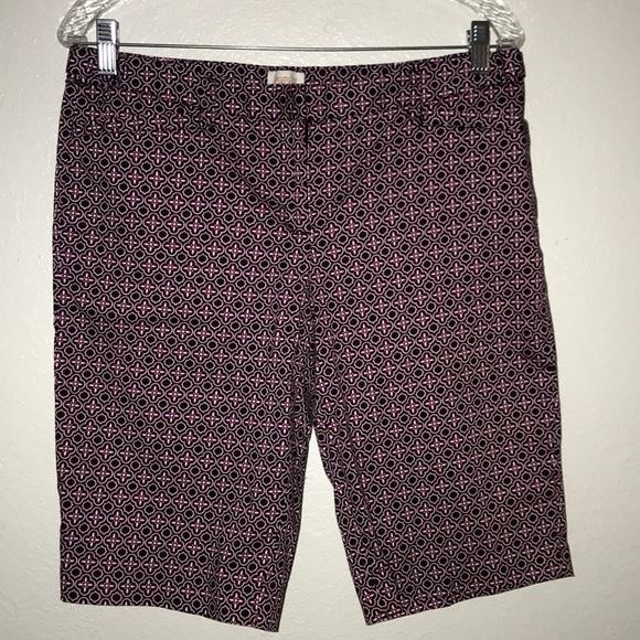 Laundry By Shelli Segal Pants - Laundry by Shelli Segal walking shorts pink 8